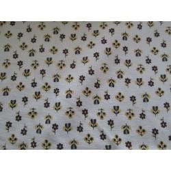Tissu imprimé petites fleurs