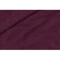 Tissu jersey uni bordeaux