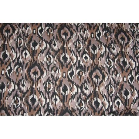 Tissu jersey africain camouflage