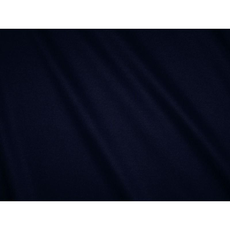 tissu jersey uni bleu marine. Black Bedroom Furniture Sets. Home Design Ideas