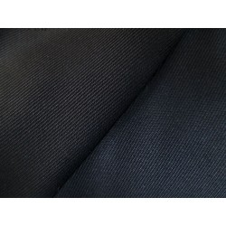 Tissu noir polycoton