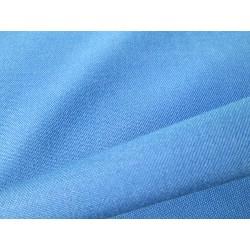 tissu ignifugée bleu royal