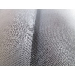 Tissu non feu gris volcan