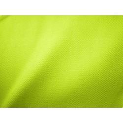 tissu workwear jaune fluo