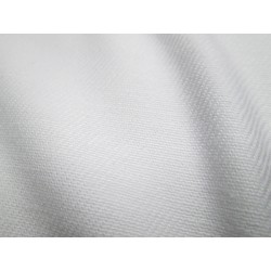 tissu ignifugé blanc