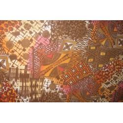 tissus africains en voile de coton