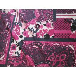 jersey fleurs style patchwork