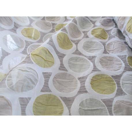Tissu bulles effet froissé