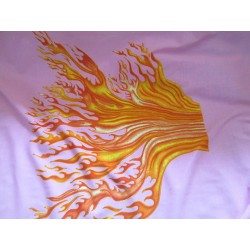 lycra flammes au coupon
