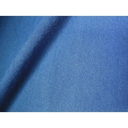 Jersey coton bleu