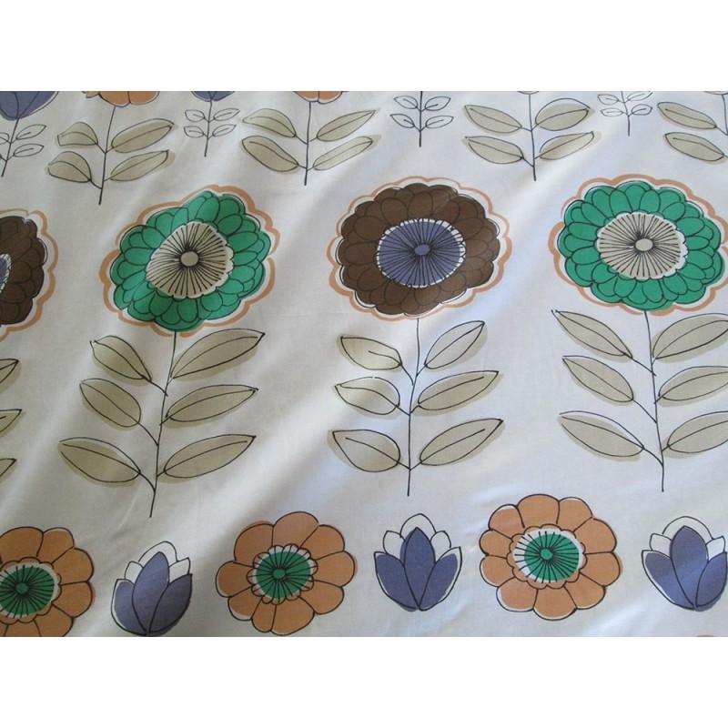tissu imprim grosses fleurs. Black Bedroom Furniture Sets. Home Design Ideas