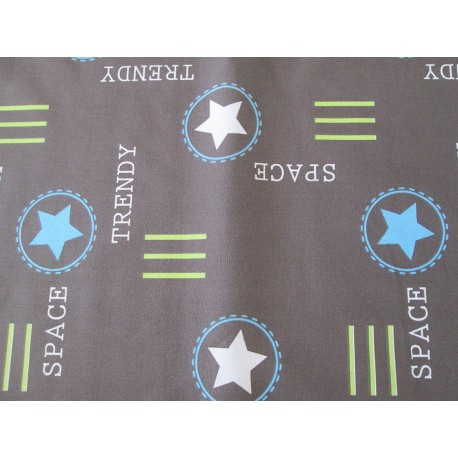 Coupon tissu trendy space