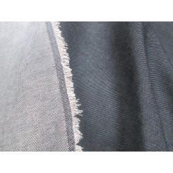 tissu jean anthracite