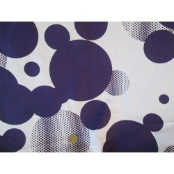 tissus pois violet grande largeur