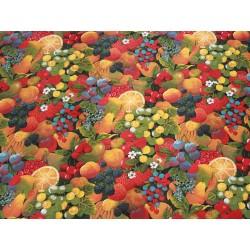 tissu imprimé fruits