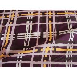 tissu tartan violet