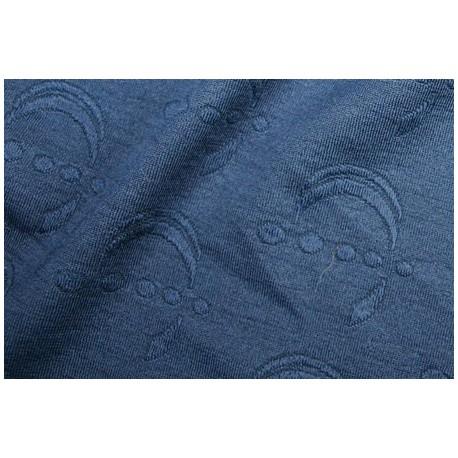 Tissu jersey arabe lune brocart bleu