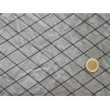tissu quadrillage gris