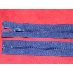 Fermeture non-séparable bleu 29cm