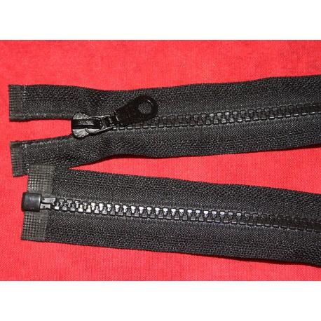 Fermeture séparable noire 70cm