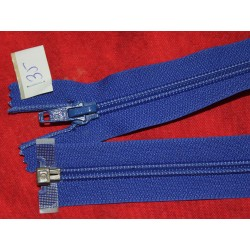 Fermeture séparable bleu 70cm