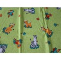 Coupon coton motifs animaux