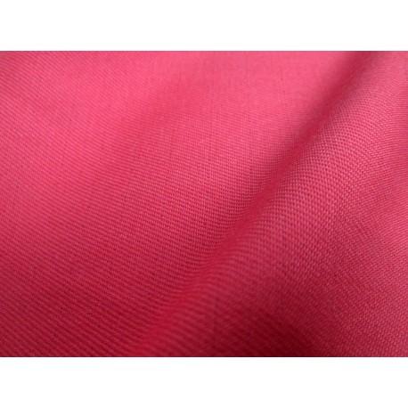 Tissu non feu rouge papaye