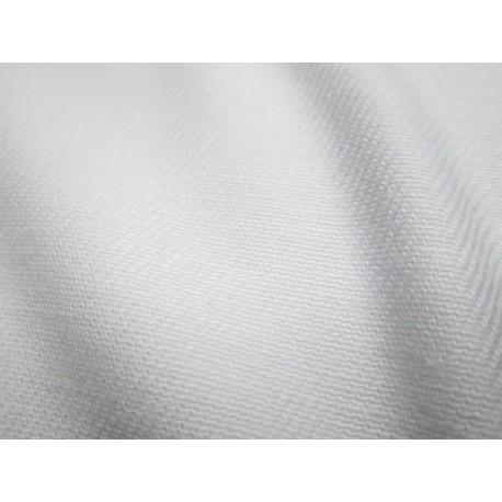 tissu workwear blanc
