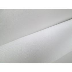 Tissu blanc polycoton