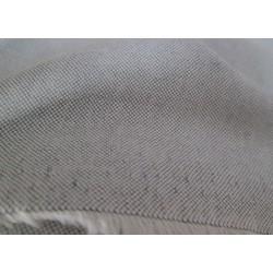 tissu chambray gris clair