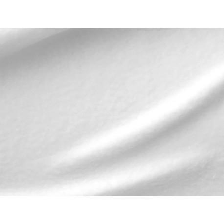 tissu polaire blanc