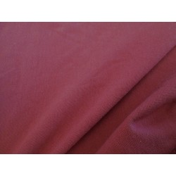 Jersey coton rouge framboise
