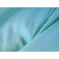 Tissu coton bleu caraibes