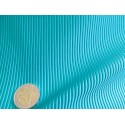 tissu rayures turquoise