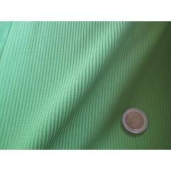 Jersey à rayures vert pistache