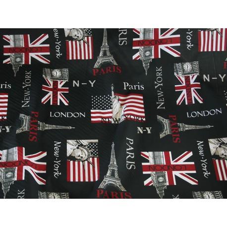Tissu Paris London NY