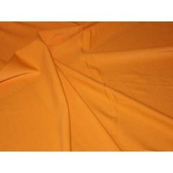 Tissu lycra rayures orange ton sur ton