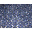 Coupon imprimé formes géométriques violet