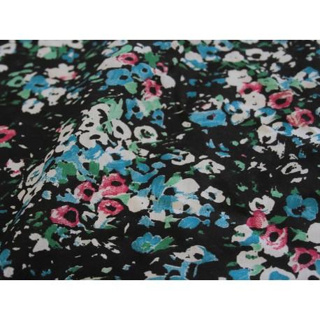 tissu fleurs aquarelle