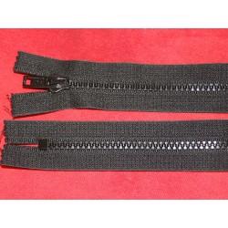 Fermeture non-séparable noire 50cm