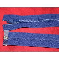 Fermeture séparable bleue 80cm