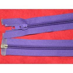 Fermeture séparable violette 78cm