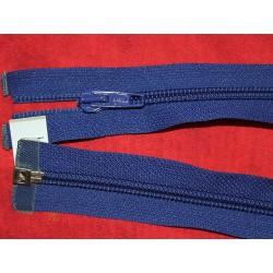 Fermeture séparable bleu 60cm