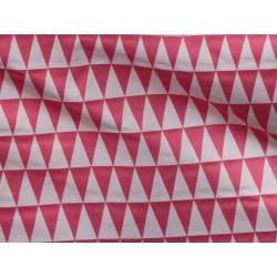 tissu backgammon rose