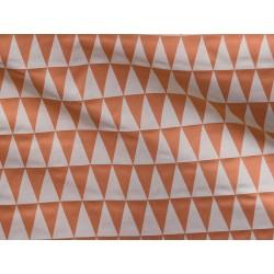 tissu backgammon orange